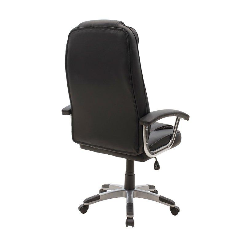 Καρέκλα γραφείου διευθυντή Notorius pakoworld pu χρώμα μαύρο