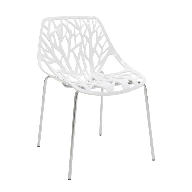 Καρέκλα Mare pakoworld πολυπροπυλενίου χρώμα λευκό επαγγελματική κατασκευή