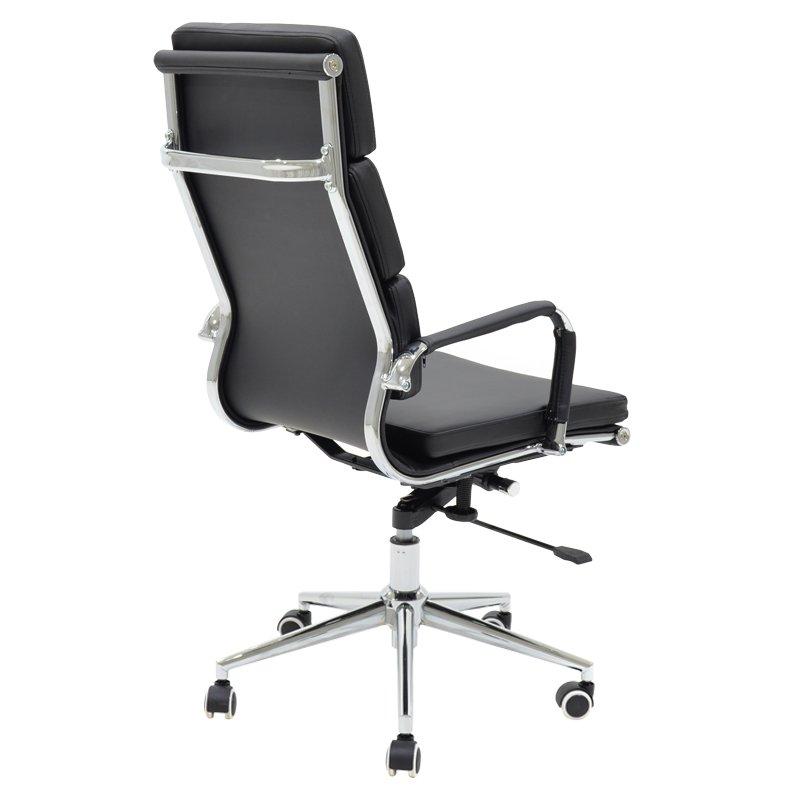 Καρέκλα γραφείου διευθυντή Tokyo pakoworld pu μαύρο