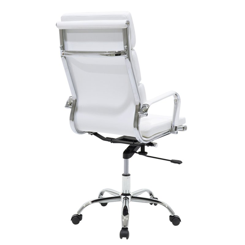 Καρέκλα γραφείου διευθυντή Tokyo pakoworld pu λευκό
