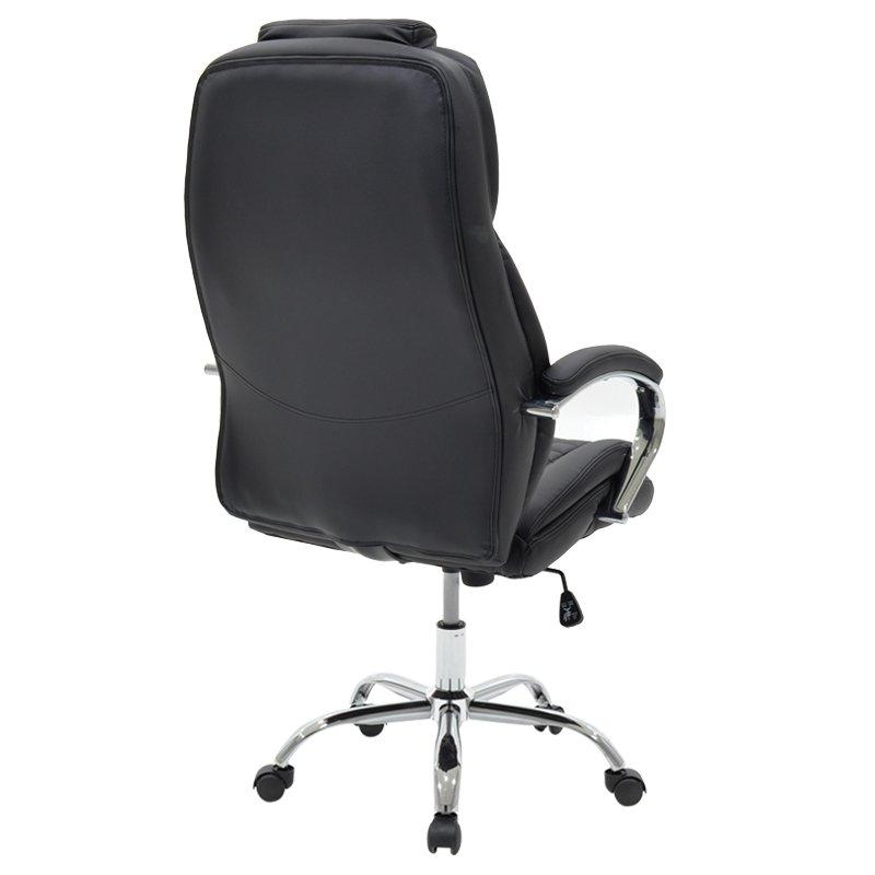 Καρέκλα γραφείου διευθυντή Macabo pakoworld pu μαύρο