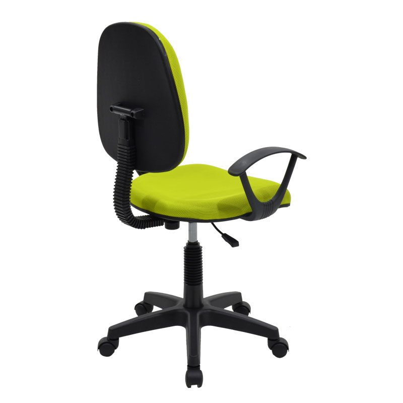 Καρέκλα γραφείου εργασίας Maria pakoworld με ύφασμα mesh χρώμα πράσινο