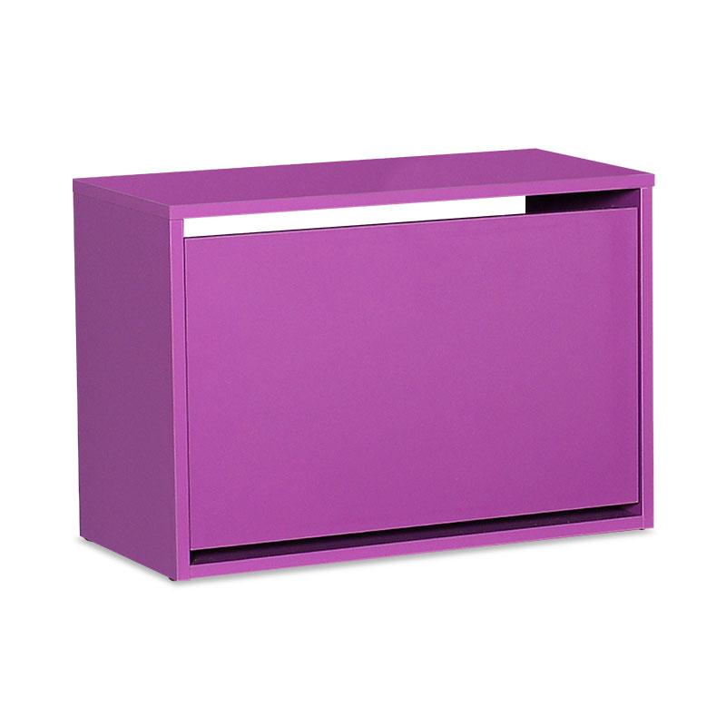 Παπουτσοθήκη ανακλινόμενη Step 6 ζεύγων pakoworld σε χρώμα μωβ 60x30x42εκ