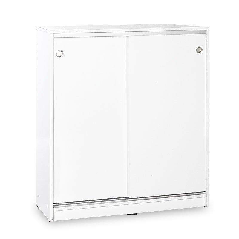 Ντουλάπι-Παπουτσοθήκη 20 ζεύγων Diamond pakoworld λευκό 91x37x105εκ
