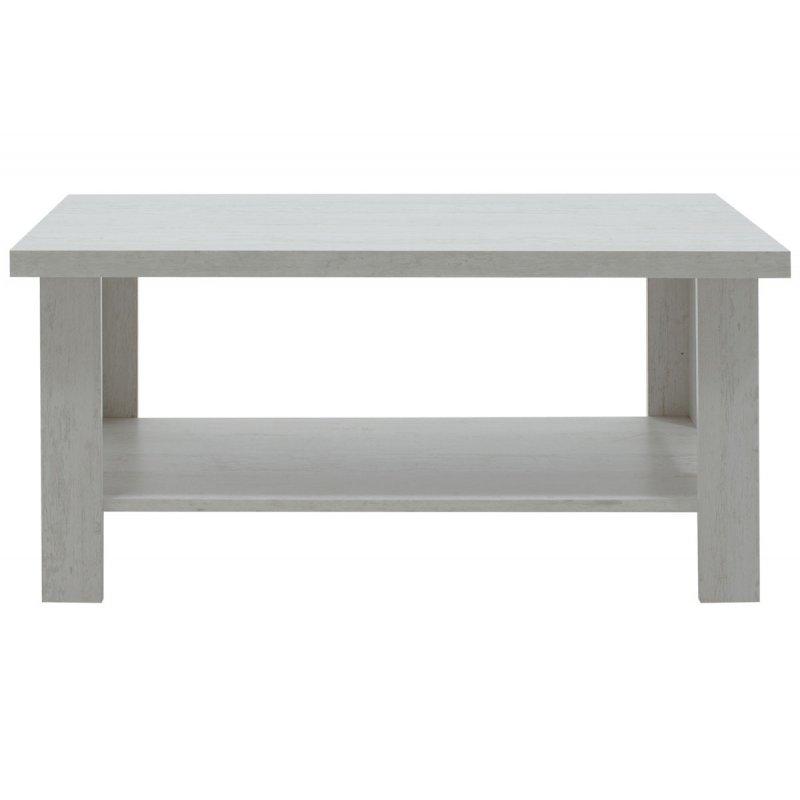 Τραπέζι σαλονιού RIANO pakoworld χρώμα γκρι-λευκό 89,5x49,5x42,5εκ