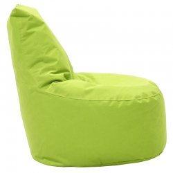 Πουφ πολυθρόνα Norm pakoworld υφασμάτινο αδιάβροχο πράσινο