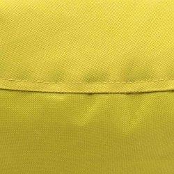Πουφ πολυθρόνα Norm pakoworld υφασμάτινο αδιάβροχο κίτρινο