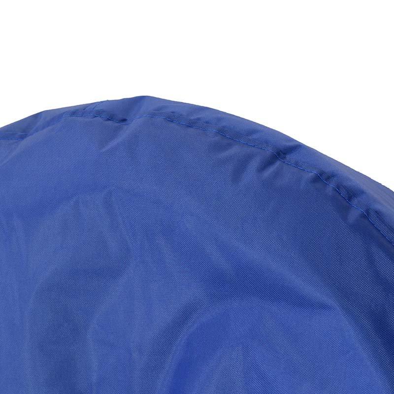 Πουφ πολυθρόνα Norm PRO pakoworld επαγγελματικό 100% αδιάβροχο μπλε
