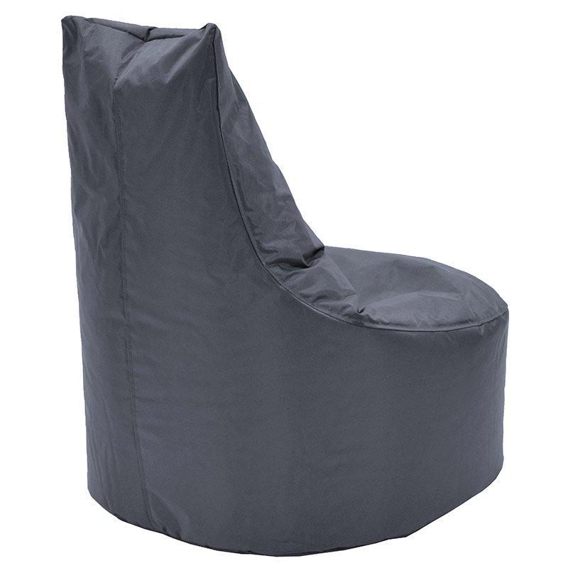 Πουφ πολυθρόνα Norm PRO pakoworld επαγγελματικό 100% αδιάβροχο γκρι