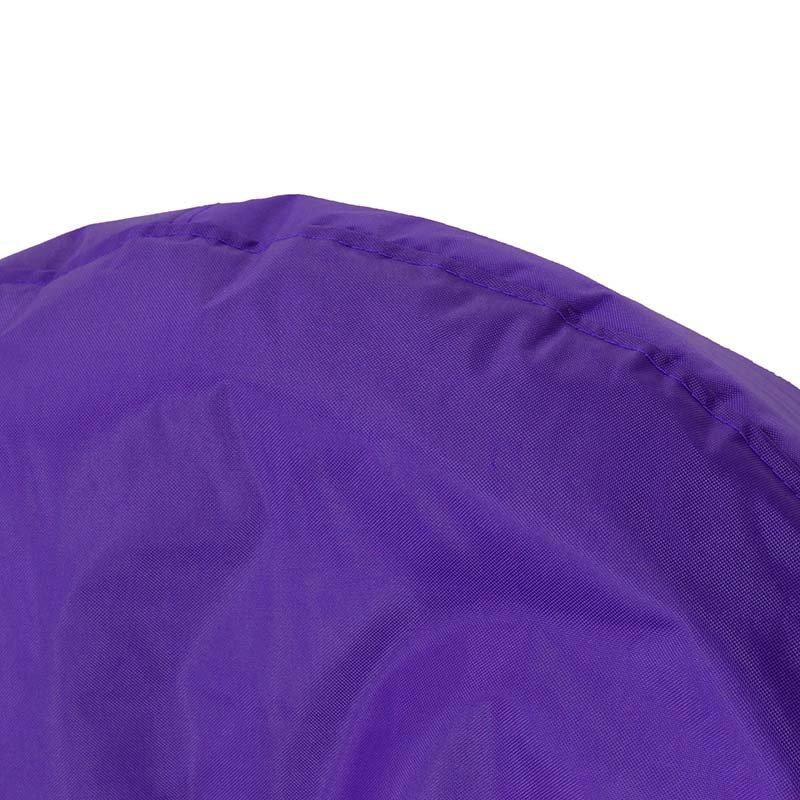 Πουφ πολυθρόνα Norm PRO pakoworld επαγγελματικό 100% αδιάβροχο μωβ