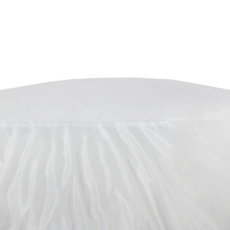 Πουφ πολυθρόνα Norm PRO pakoworld επαγγελματικό 100% αδιάβροχο λευκό