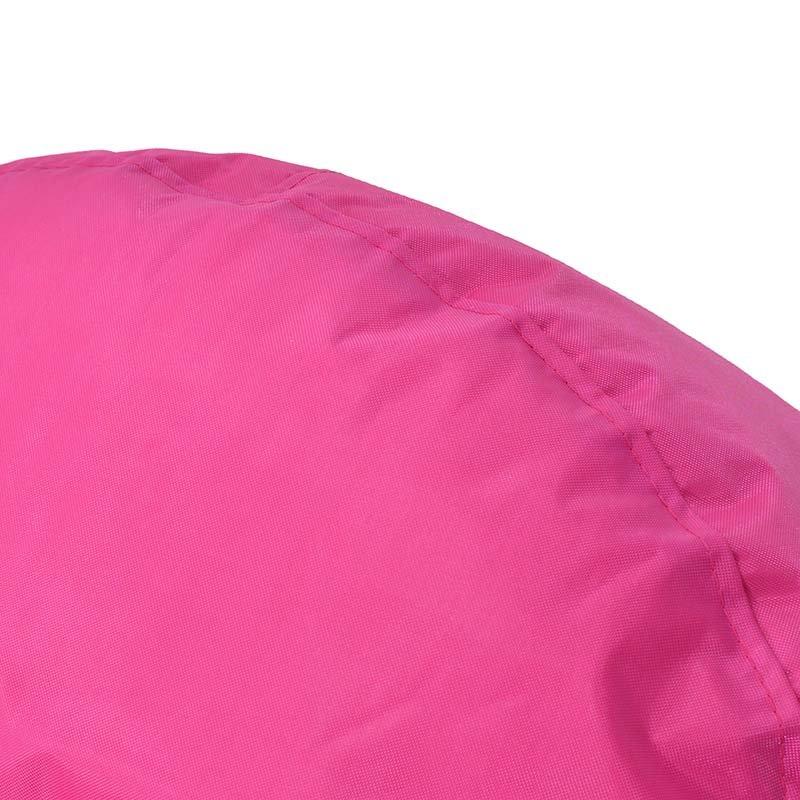 Πουφ πολυθρόνα Norm PRO pakoworld επαγγελματικό 100% αδιάβροχο ροζ