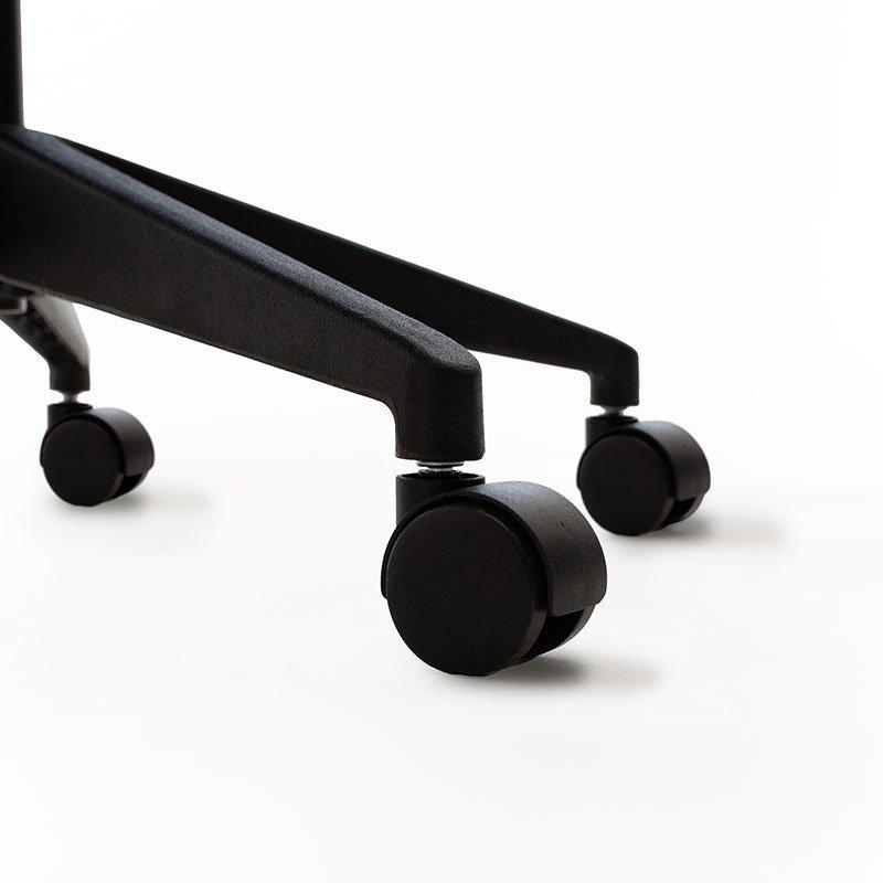 Καρέκλα γραφείου εργασίας Maestro pakoworld με ύφασμα mesh χρώμα μαύρο-γκρι