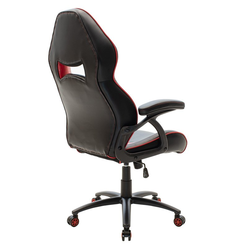 Καρέκλα γραφείου Schumacher gaming pakoworld pu μαύρο-κόκκινο