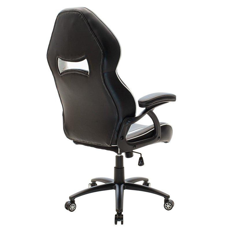 Καρέκλα γραφείου Schumacher gaming pakoworld pu μαύρο-λευκό
