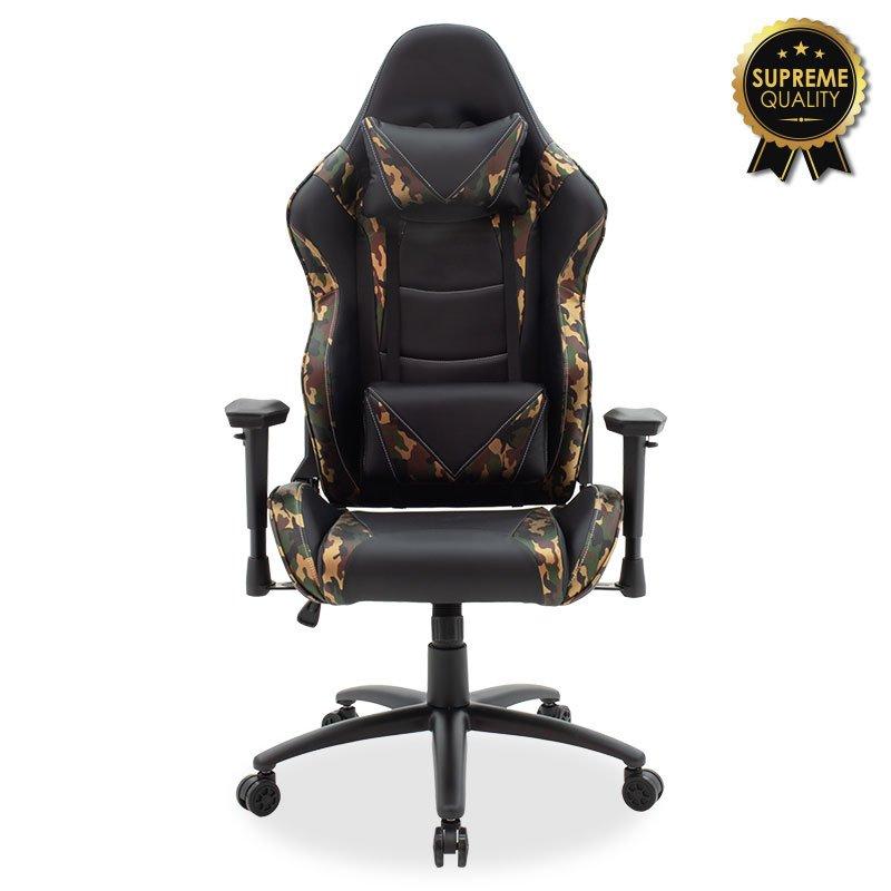 Καρέκλα γραφείου Russel-Gaming SUPREME QUALITY pu μαύρο-military
