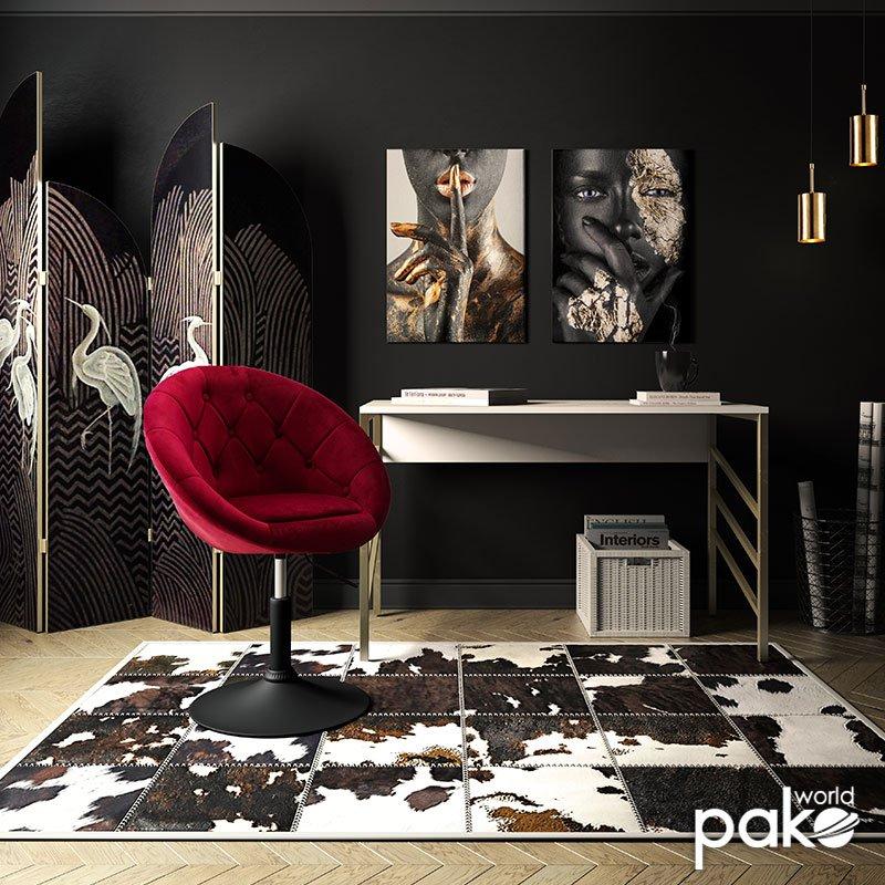 Πολυθρόνα Ivy pakoworld πτυσσόμενη με βελούδο χρώμα μπορντώ 68x56x82-94εκ