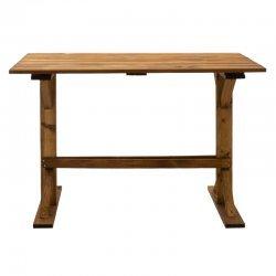 Τραπέζι Dalit pakoworld ξύλo καρυδί 110x63x72εκ