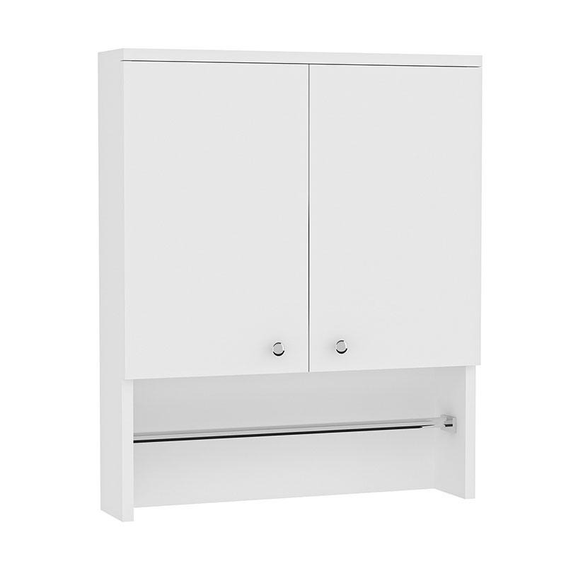Ντουλάπι Doga pakoworld χρώμα λευκό 60x17x72εκ