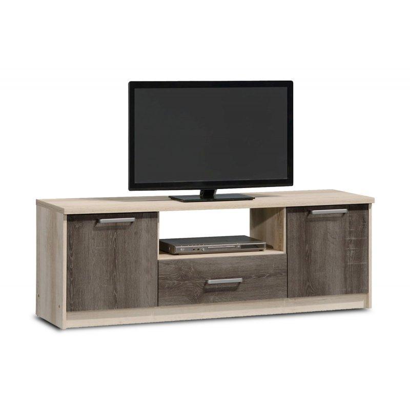 Έπιπλο τηλεόρασης OLYMPUS pakoworld χρώμα castillo-toro 144x39x50,5εκ