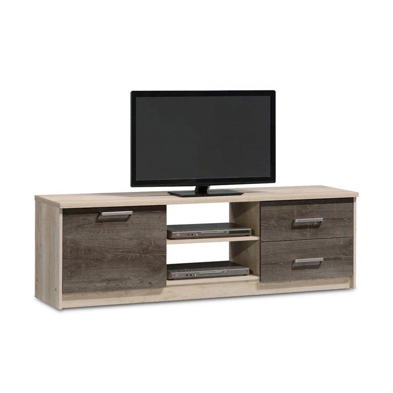 Έπιπλο τηλεόρασης OLYMPUS pakoworld χρώμα castillo-toro 160x39,5x50,5εκ