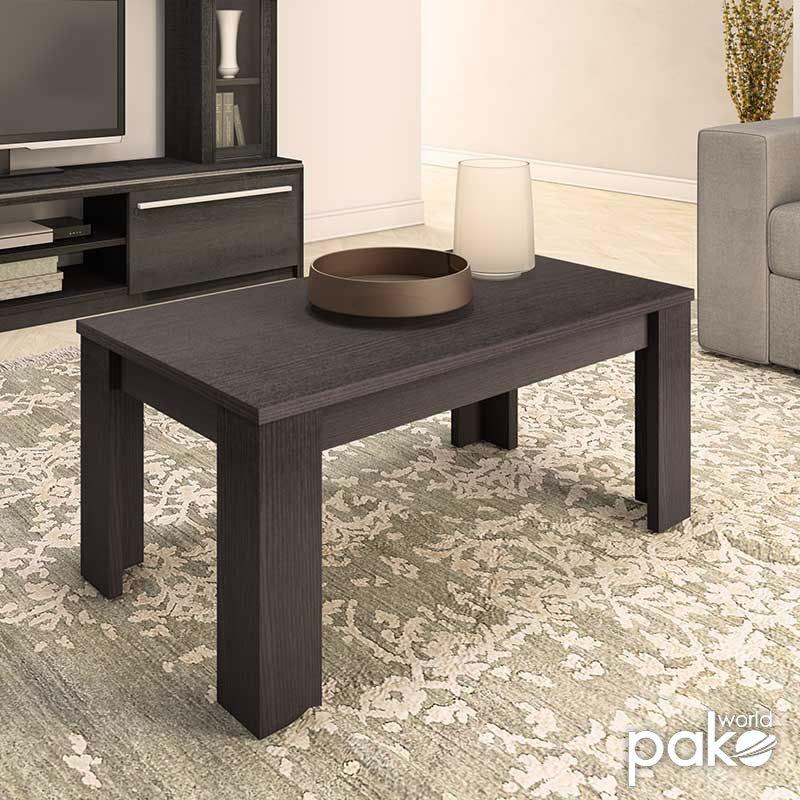Τραπέζι σαλονιού OLYMPUS pakoworld χρώμα wenge 100x51x42,5εκ