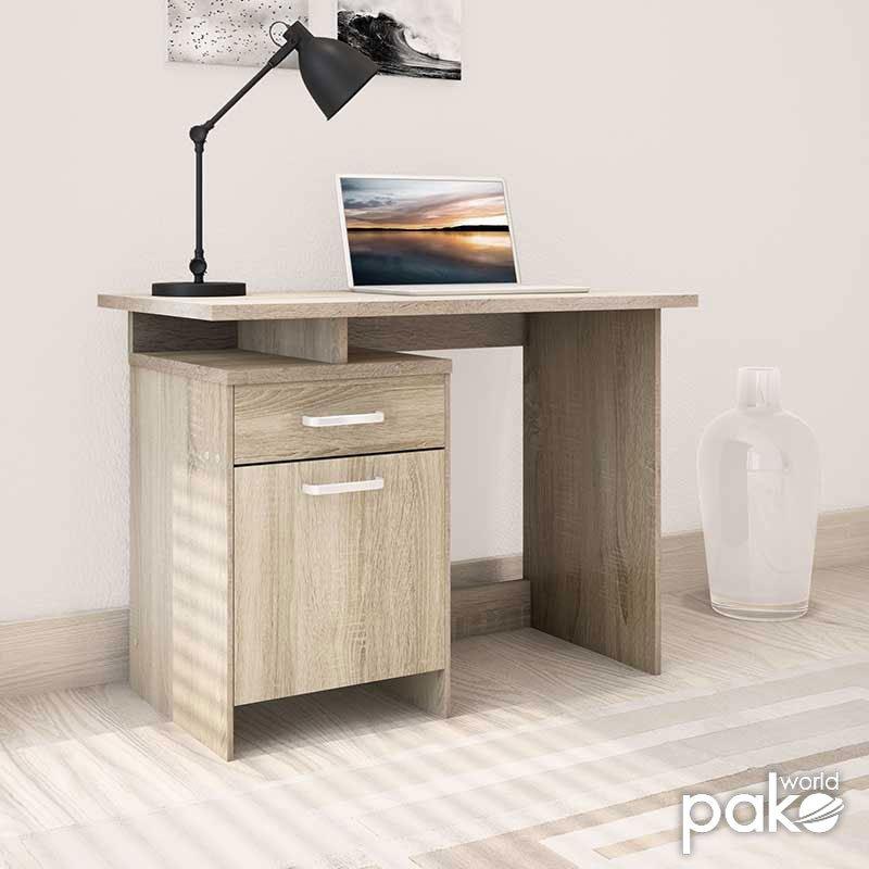 Γραφείο εργασίας Looney pakoworld χρώμα sonoma 100x55x75εκ
