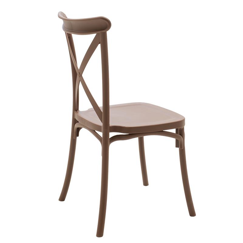 Καρέκλα catering Xavier pakoworld pp καφέ
