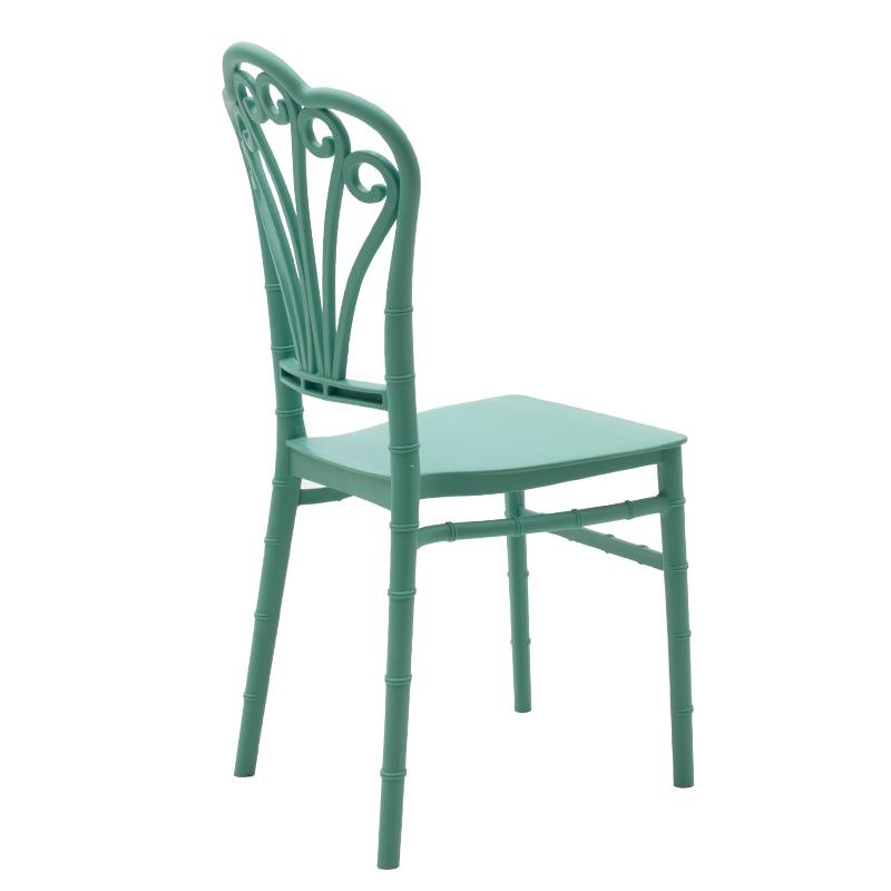 Καρέκλα catering Lady pakoworld pp βεραμάν