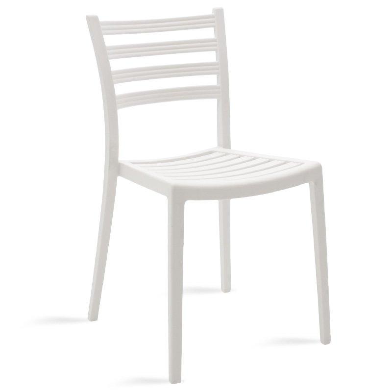 Καρέκλα κήπου Winn pakoworld pp λευκό