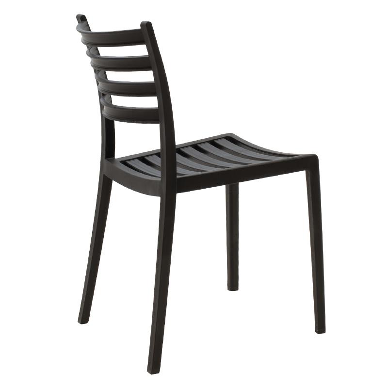 Καρέκλα κήπου Winn pakoworld pp μαύρο