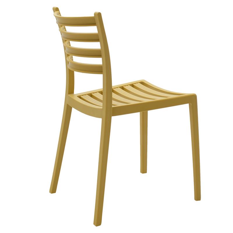 Καρέκλα κήπου Winn pakoworld pp μουσταρδί