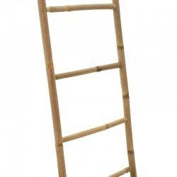 Σκάλα Jacy pakoworld bamboo χρώμα φυσικό 48,5x4x180εκ