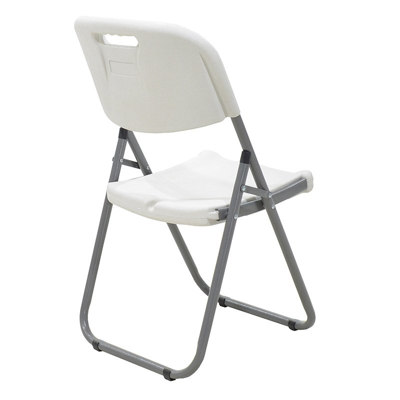 Καρέκλα catering-συνεδρίου πτυσσόμενη Edison pakoworld χρώμα λευκό