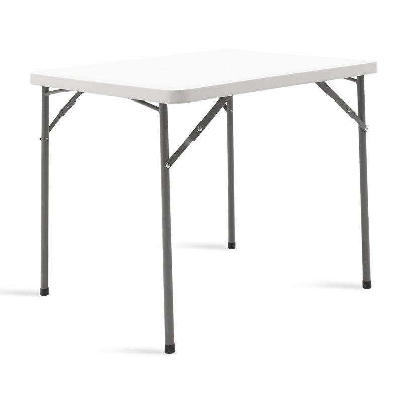 Τραπέζι catering Rodeo pakoworld πτυσσόμενο λευκό 86x86x73εκ