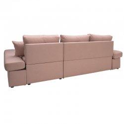 Γωνιακός καναπές-κρεβάτι δεξιά γωνία Bigger pakoworld σάπιο μήλο 270x166x86εκ