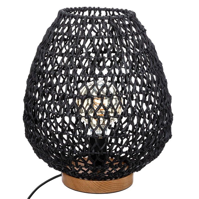 Φωτιστικό Etel pakoworld E27 μαύρο Φ30x35.5εκ