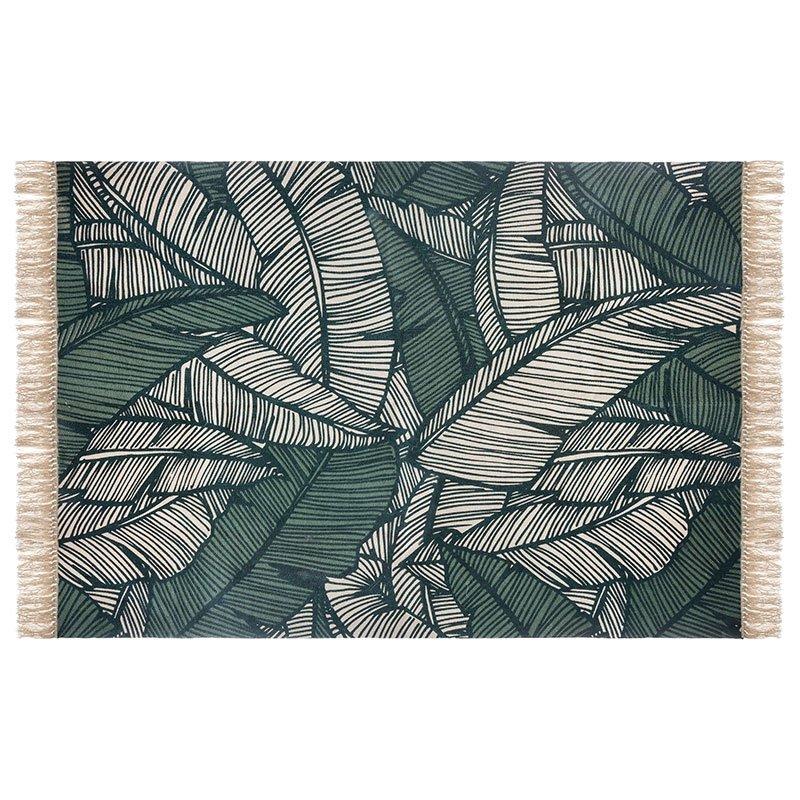 Χαλί Jungle pakoworld βαμβάκι πολύχρωμο 170x120x1εκ